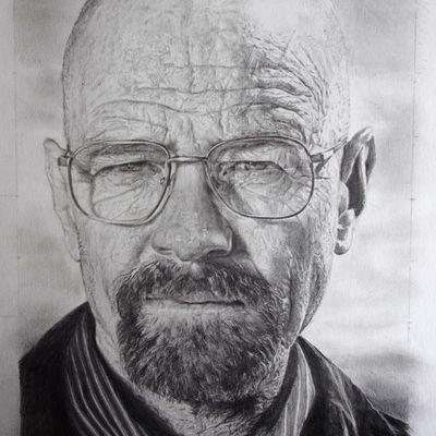 [Speed Drawing] Apprend à dessiner Walter White (Breaking Bad)