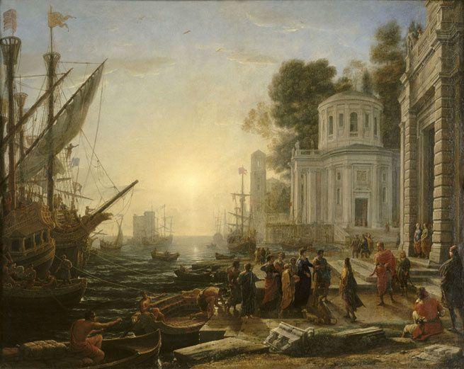 Exposition William Turner au Grand Palais.