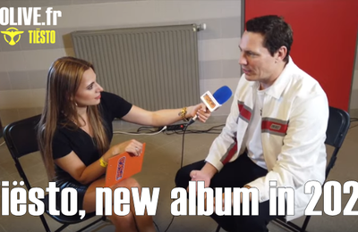 Tiësto, interview during the DLDK festival in Poland for Radio Eska: new album for 2020 !!