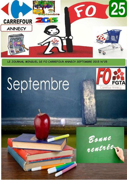 JOURNAL FO CARREFOUR ANNECY SEPTEMBRE 2015