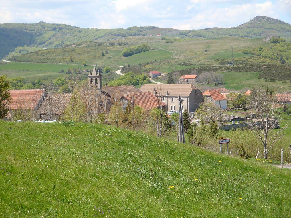 Sur les routes de l'Ardèche,  durant 3 jours Notre camp de base:LE MAS DE CHAMPEL LES OLLIERES /EYRIEU