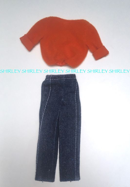 """""""FASHION COLLECTIBLES"""" FOR SKIPPER DOLL 1980 MATTEL #1384"""