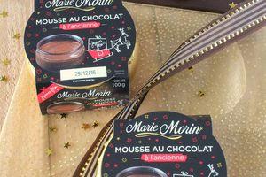 Mousse au Chocolat à l'Ancienne Marie Morin Edition Spéciale Noël