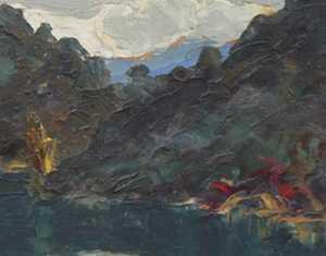 Biographie et analyse sur le peintre savoyard Lucien Poignant