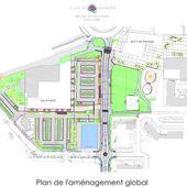 Plan et planning des travaux d'aménagement du centre de Kermoysan - Penhars Infos Quimper
