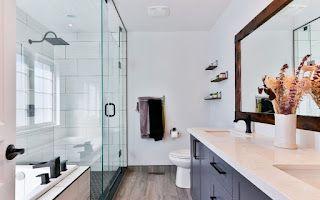 An Eye-Catchy Master Bathroom Renovation | LA Interiors