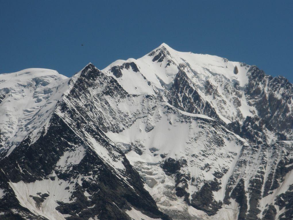 Le MONT JOLY - 2525 m ( Contamine Mont Joie -  St Gervais ) - BELVEDERE du MONT BLANC