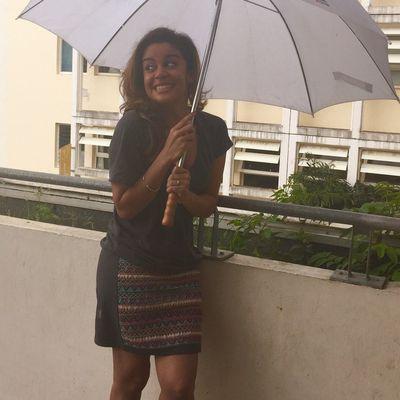 Aurélie Béton, étudiante et animatrice à Antenne Réunion