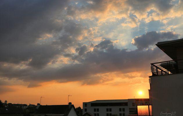 Un coucher de Soleil..