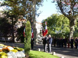 Le 9 novembre le vice-président Henri SABATIER a particpé à la cérémonie du 49ème anniversaire de la mort du général De Gaulle