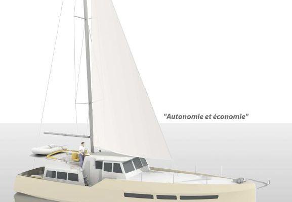 Exclusif - les images du futur trawler hauturier des chantiers Navals Bernard (56)