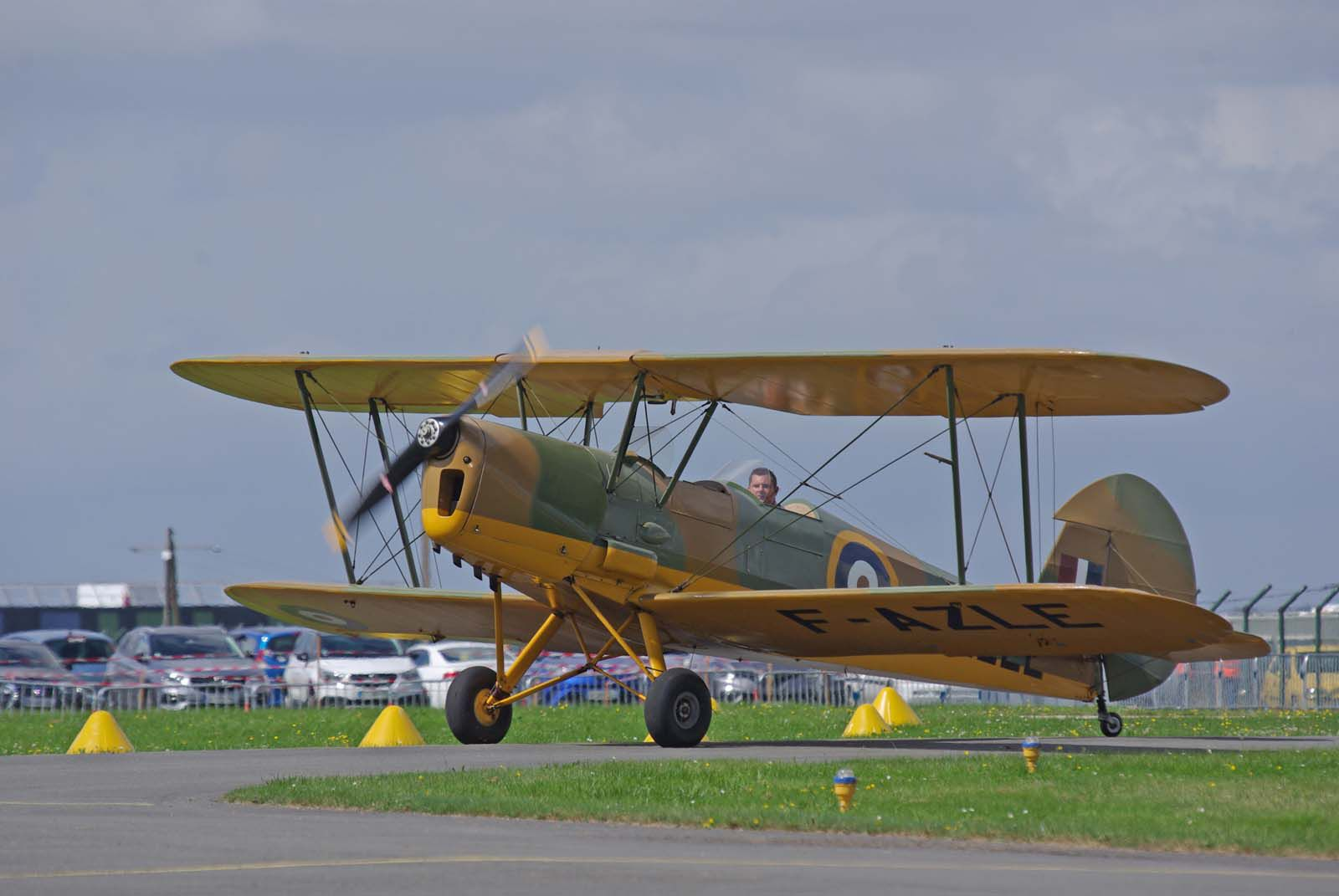 Le Stampe SV-4C F-AZLE venu en voisin d'Abbeville.