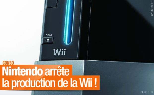 Nintendo arrête la production de la Wii ! #Wii