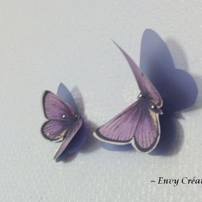 Une envolée de papillons