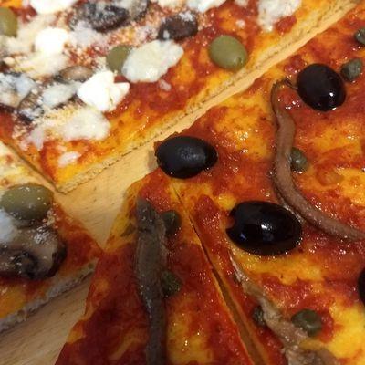 Pizza à l'ancienne