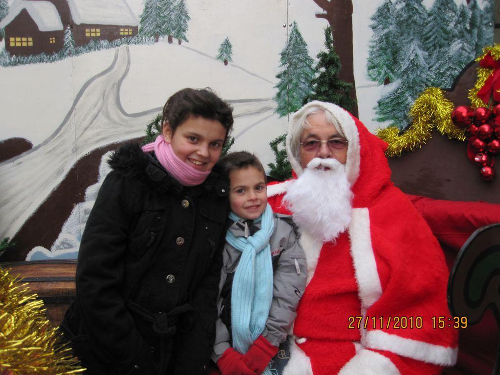 Jean-François vous a offert des photos avec le Père Noël. En 2011, nous vous offrirons encore des photos !