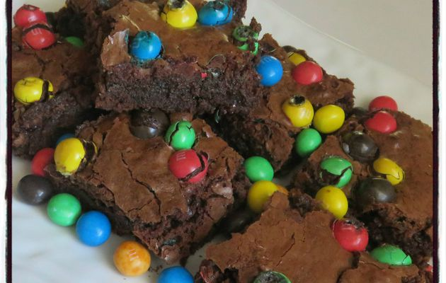 Brownies aux M&M's