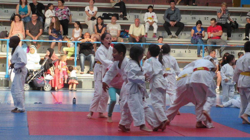 Le club de judo de Parilly a terminé sa saison par un gala