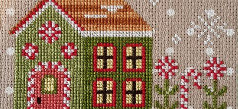 Santa's Village de Country Cottage Needelworks - 2