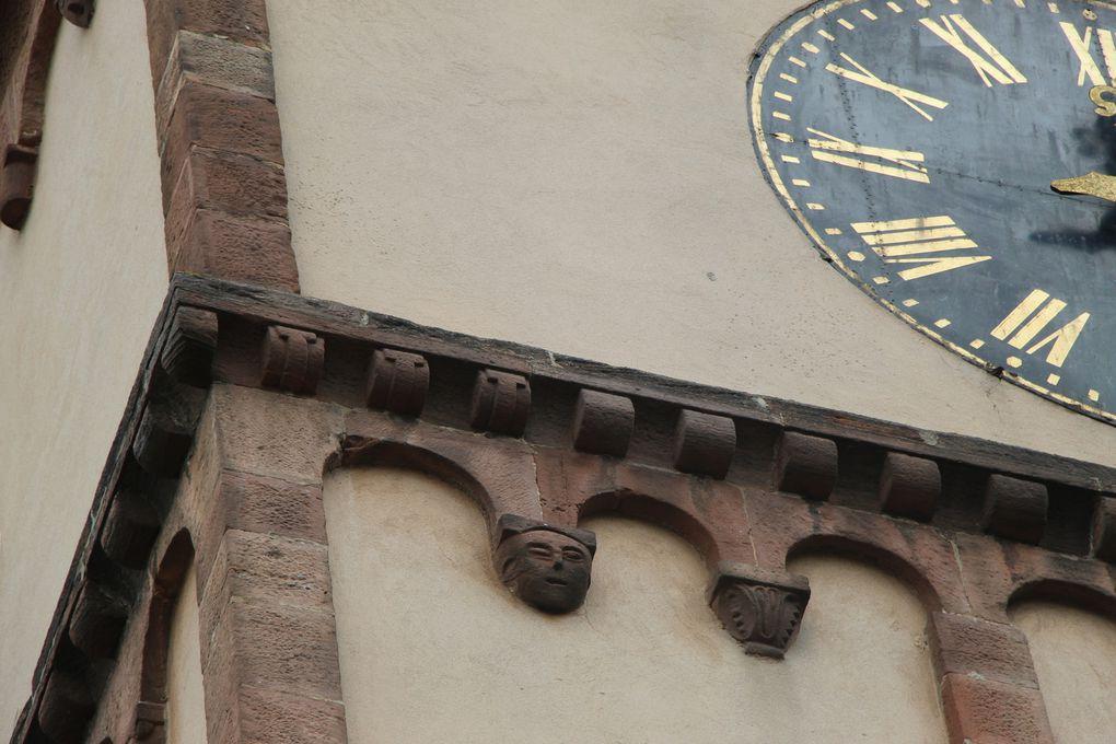 Sur la Route Romane : Barr , son église protestante Saint Martin , Eichhoffen sa Chapelle Saint Jean et son lavoir