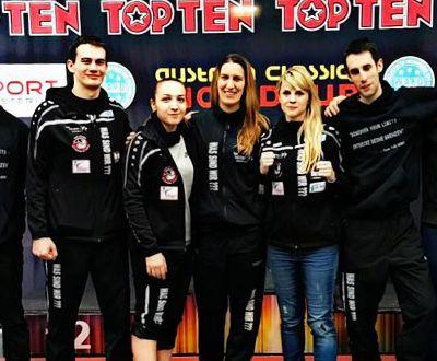 Neunmal Edelmetall für Team TAE-KIBO beim WAKO World Cup Innsbruck 2016