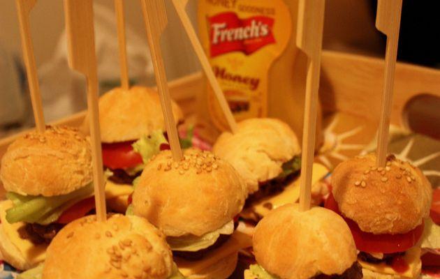 Mini hamburger classique