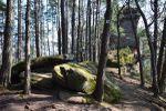 Napoleon-Steig ou les derniers rochers des Vosges du Nord