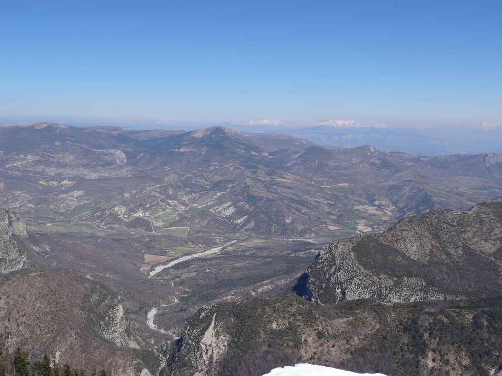 A nous la Montagne de Lure (04) (le 14/04/2019)