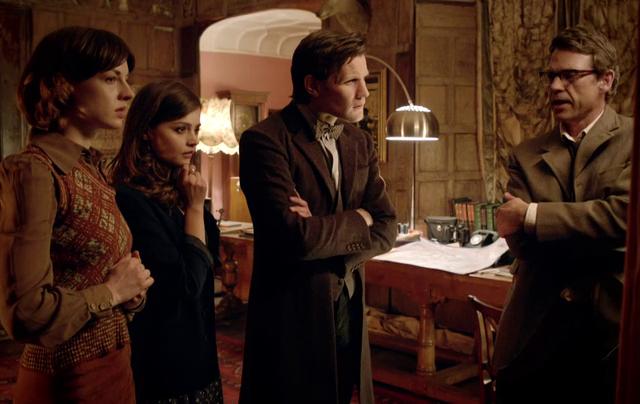 Critiques Séries : Doctor Who. Saison 7. Episode 9. Hide.