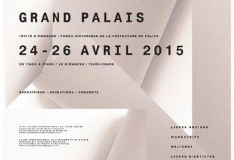 Salon international du livre rare et de l'autographe, de l'estampe et du dessin au Grand Palais
