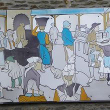 Rêve autour d'un marché Breton...