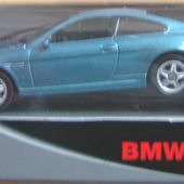 BMW 645 CI BLEUE WELLY 1/60 52263W - car-collector.net