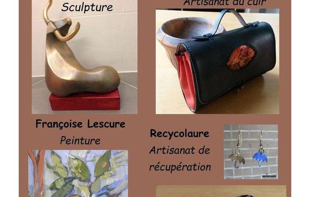 Quatre artistes locaux à la Galerie Éphémère