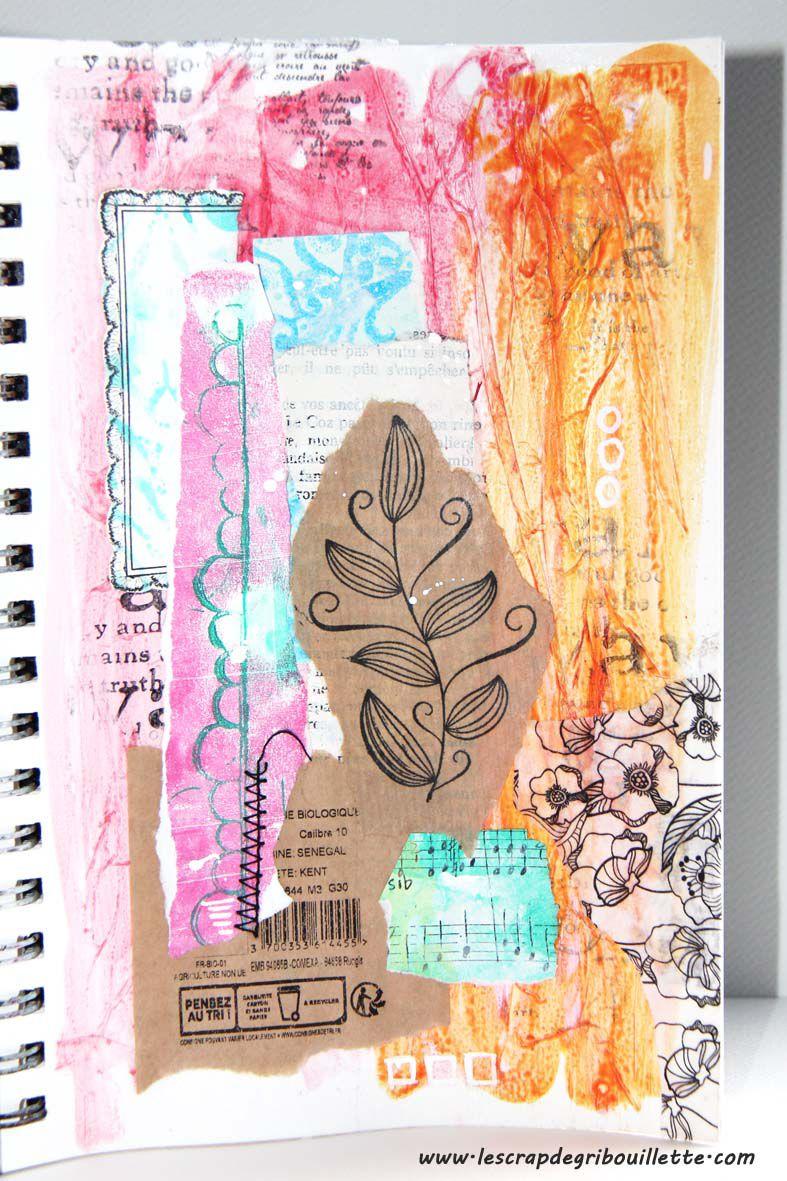 Art Journal_Pensez au tri