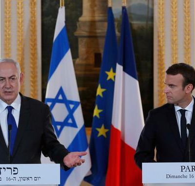 Macron reçoit nétanyahou à Paris ce dimanche