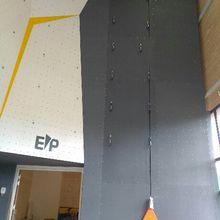 Castellane : Mur d'escalade installé