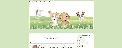 Furry Family OverBlog Template
