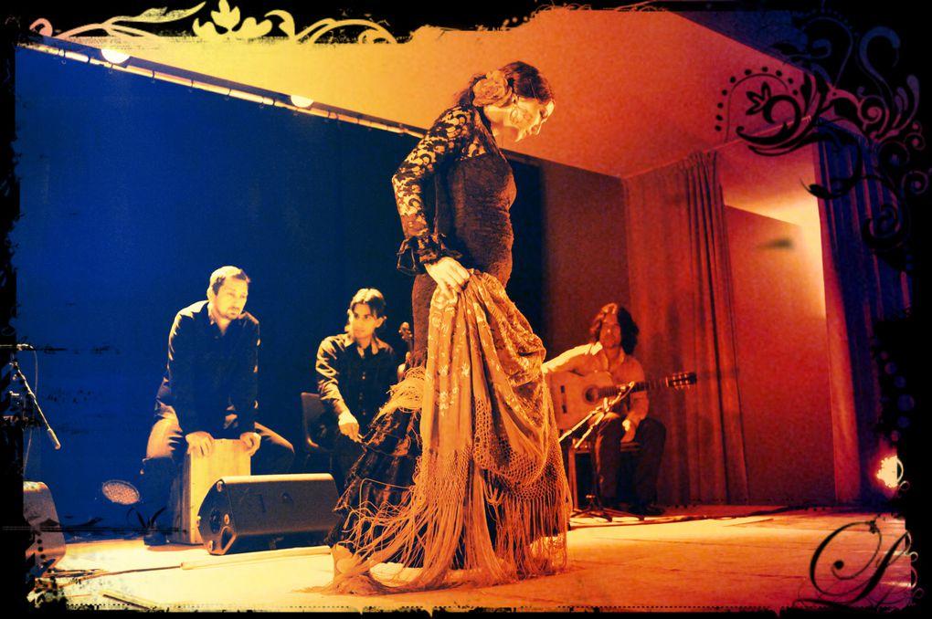 CREATION NOVEMBRE 2012 des répétitions au spectacle... CHELY LA TORITO  PHOTOS SANDY KORZEKWA