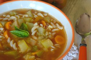 Minestrone (version facile et rapide)