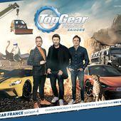 Benjamin Castaldi et Christian Vadim s'affrontent sur la piste Top Gear, le 17 janvier sur RMC Découverte. - Leblogtvnews.com