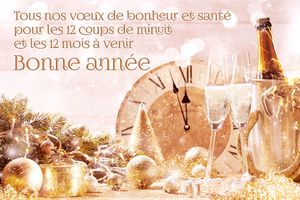 Bonne et heureuse année 2020 - Good and happy new year 2020 -