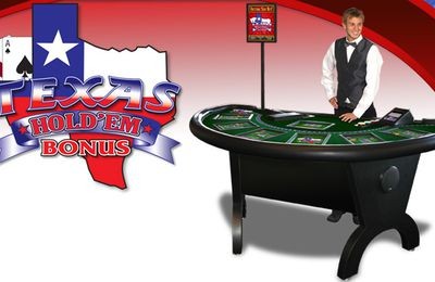 Evolution Gaming lance le Live Texas Hold'em Bonus Poker