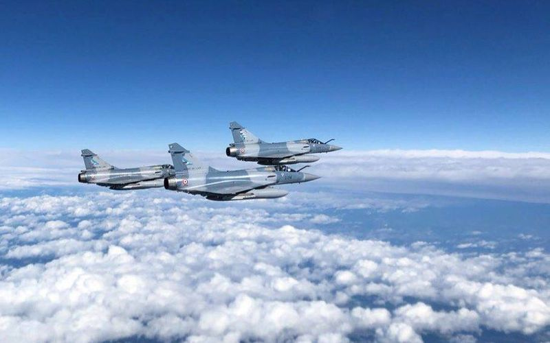 Le détachement de Mirage 2000-5F termine sa mission dans les pays baltes