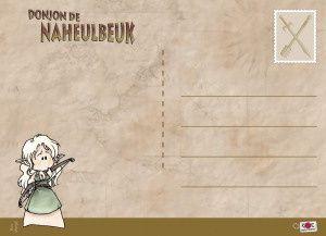 """20 cartes postales en mode """"pur Naheulbeuk""""."""