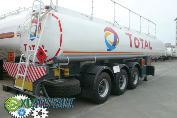 1/ Quality control- Fuel Semi Trailers Tankers 30000 L- Export China - Semirremolque Tanque Combustible 30000 L China - زيت الوقود شبه المقطورة في الصين