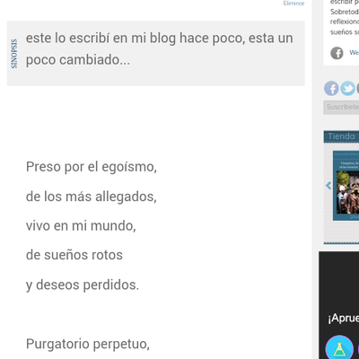 Poema purgatorio de Esdras Calvo Hens
