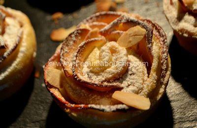 Rose Sablée aux Pommes à la Confiture de Figues