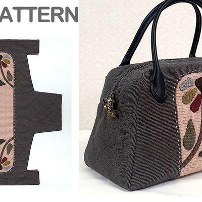 Un joli sac avec du patchwork: tutoriel aussi en vidéo