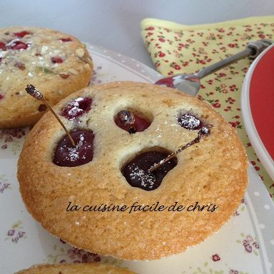 Financiers groseilles