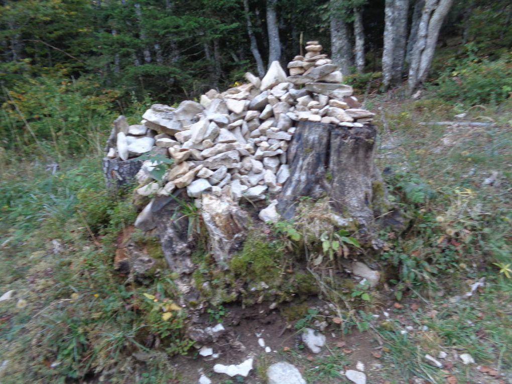 Notre rando. du weekend : Plateau de Beure - cabane Pré Peyret